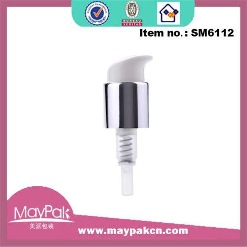 high quality 24/410 silvery cream treatment pump