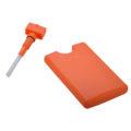 Plastic flat bottom credit card pocket sprayer