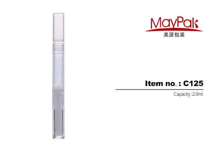 Plastic Brush Tip Cosmetic Pen Factory
