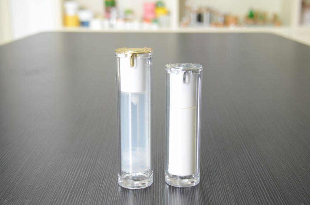 PP plastic airless bottle