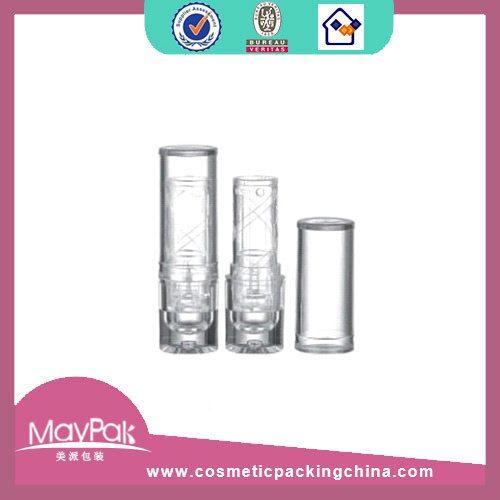 clear plastic mini lipstick tube