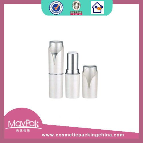 cosmetic white lipstick container tube
