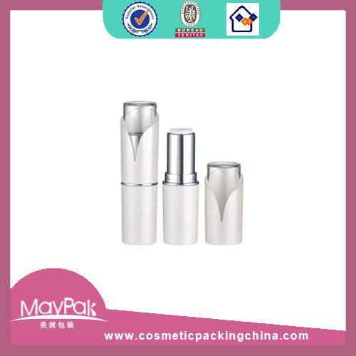 cosmetic white lipstick container tube
