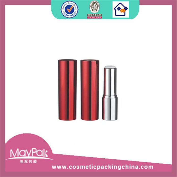 plastic round fancy lipstick tube