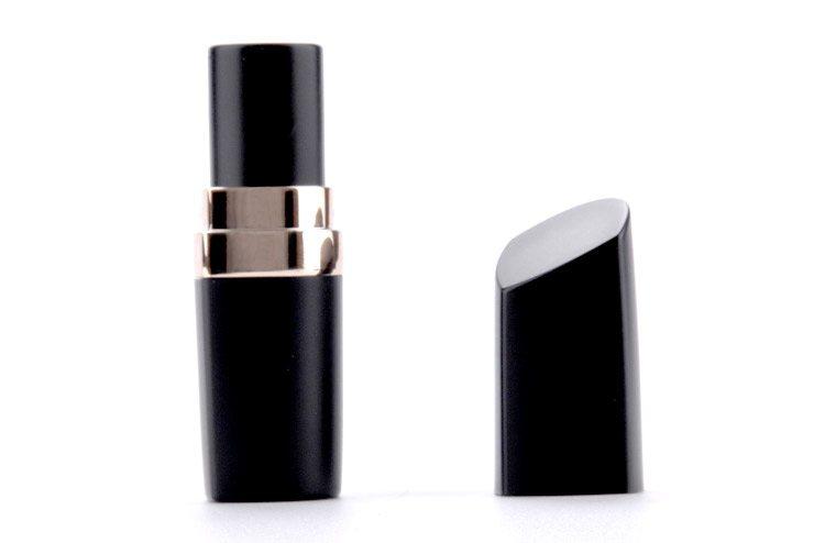 empty plastic lipstick container
