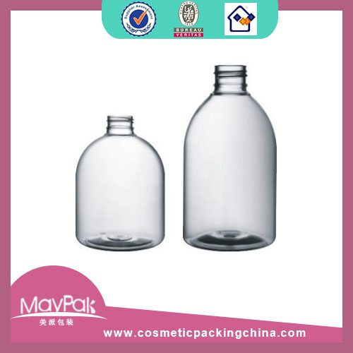 Squat Bell PET Round Bottle