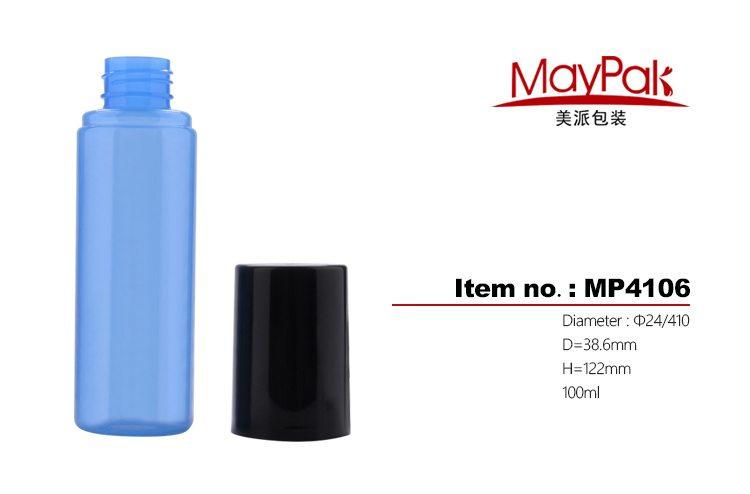 Empty PET Cosmetic Bottle