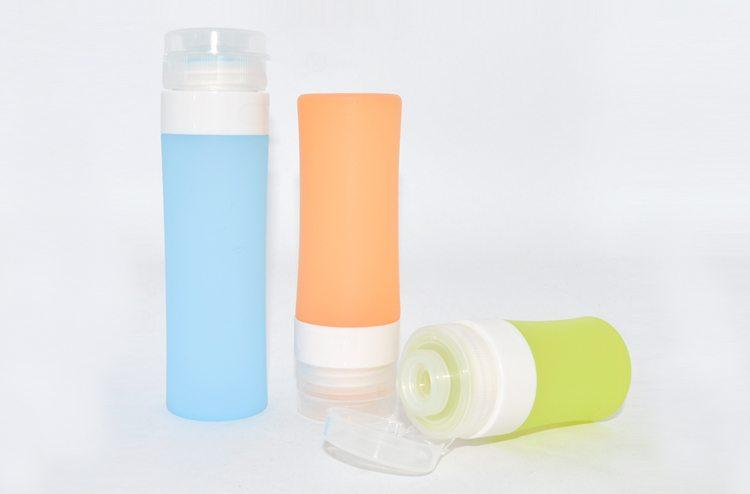 travel bottles silicone
