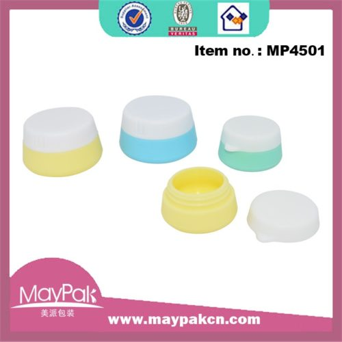 Round Small Silicone Jar