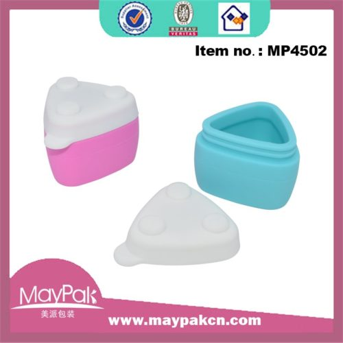 Small Triangle Travel Silicone Jar