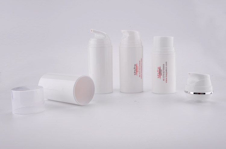 empty cosmetic PP airless bottle