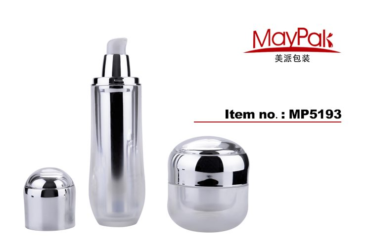 arcylic empty airless bottle manufacturer