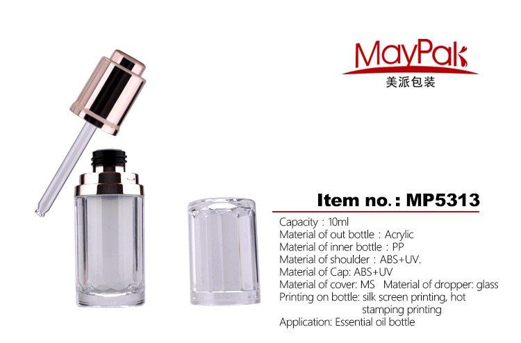 skin care use empty 10ml essential oil bottle