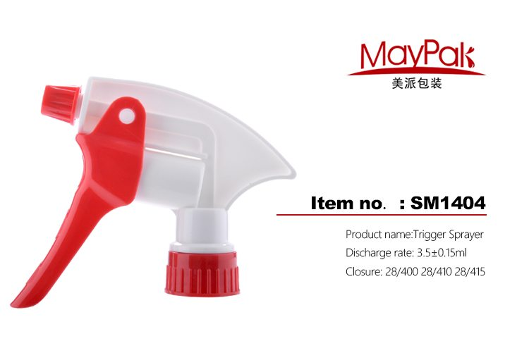 plastic trigger sprayer for glass cleaner supplier