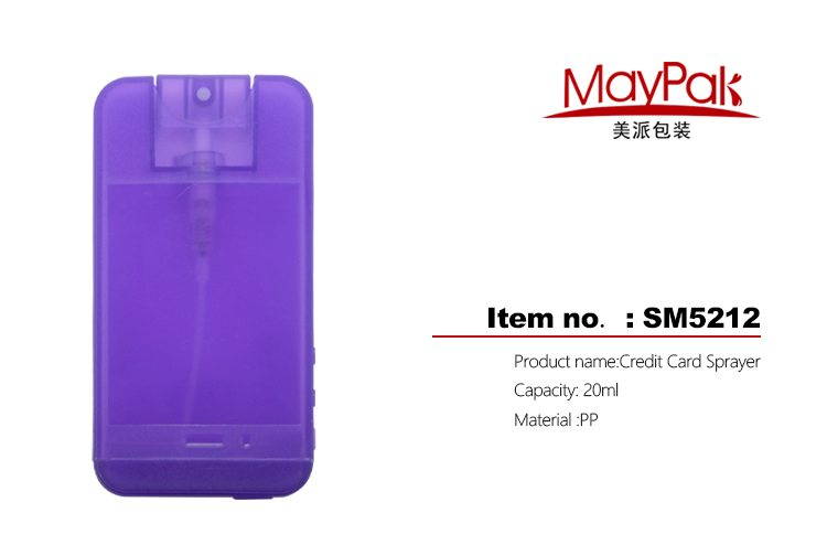 Travel Carried Packing bottle Purple Sprayer Pumps