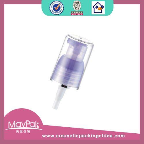 PP plastic treatment cream pump 20 410