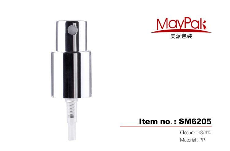 matte silver aluminum treatment cream pump