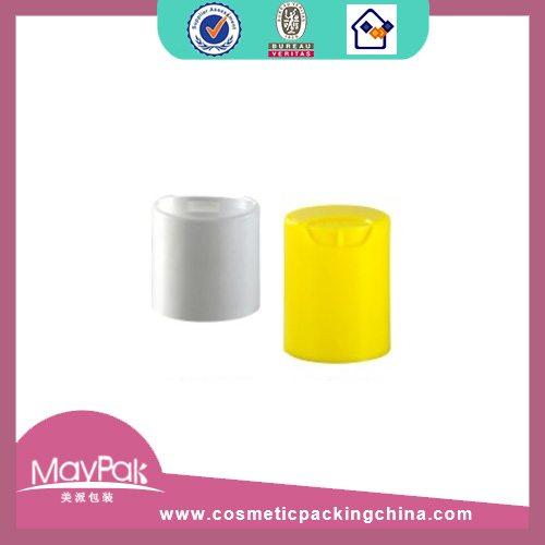 white plastic bottle cap