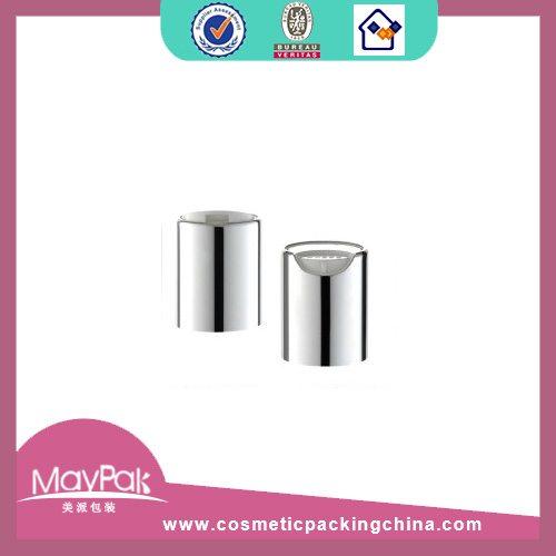 Glossy aluminum cap