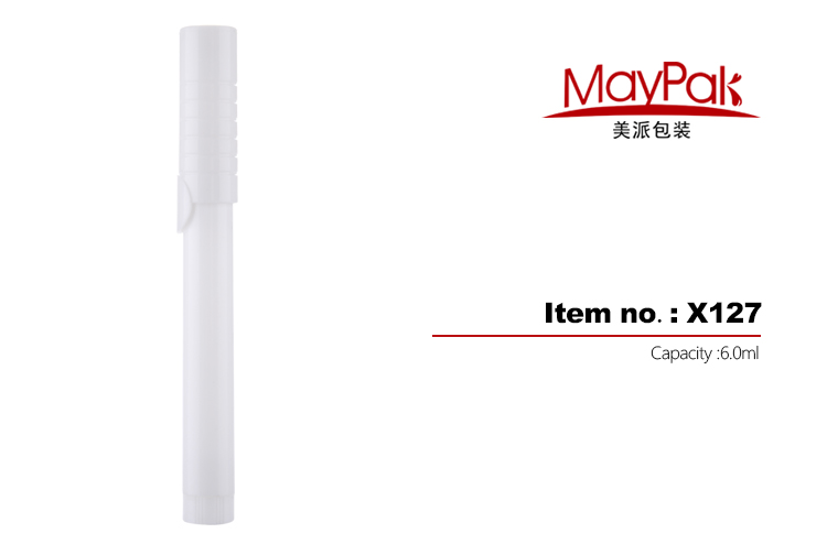 Plastic Hollow Tip Cosmetic Pen Factory