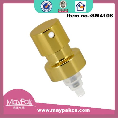 Customized Shiny Gold Aluminum Crimp Pump
