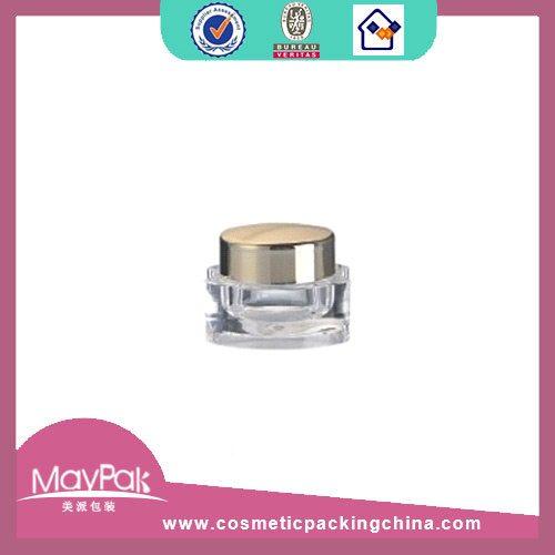 Plastic Gold Cream Jar Factory
