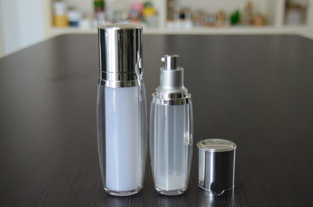 High quality double wall lotion bottle
