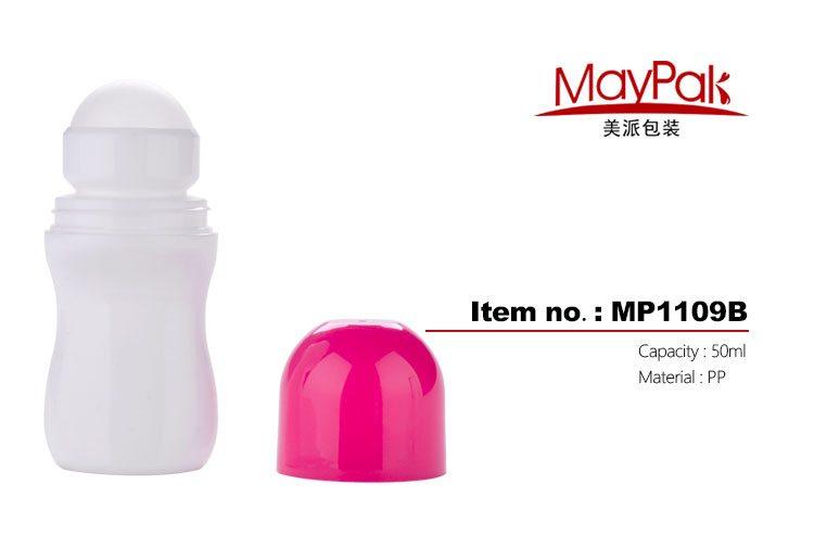 Plastic deodorant perspirant sticker
