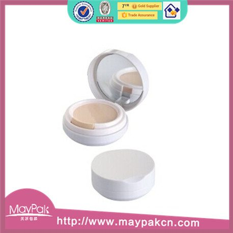 cosmetic round air cushion foundation compact