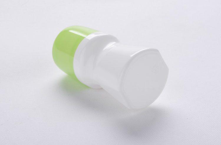 Plastic empty deodorant sticks bottle
