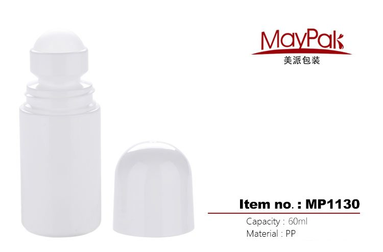 Plastic empty 60ml deodorant stick