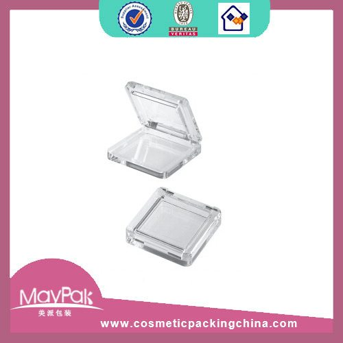 cosmetic plastic eye shadow container