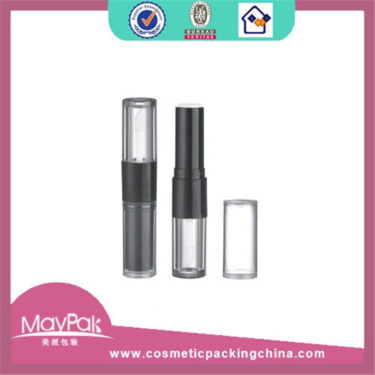 round empty custom lipgloss tube