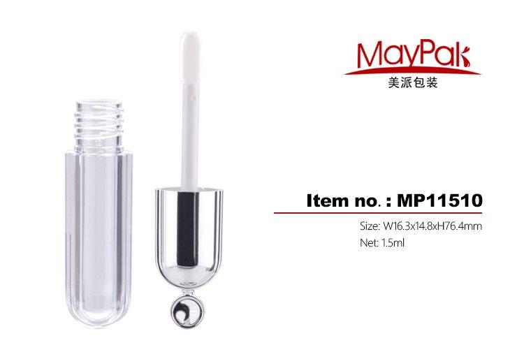 1.5ml plastic mini lipgloss tube