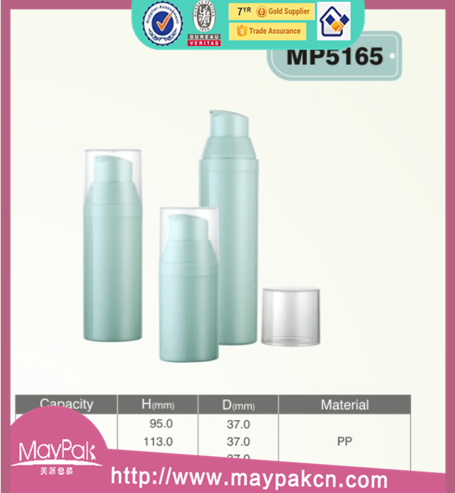 80ml PP airless cosmetic bottles