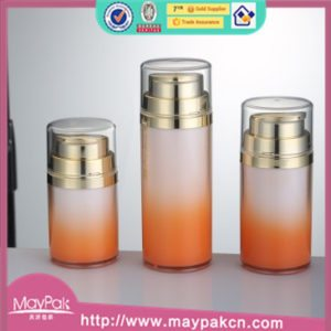 skin care acrylic airless water bottle