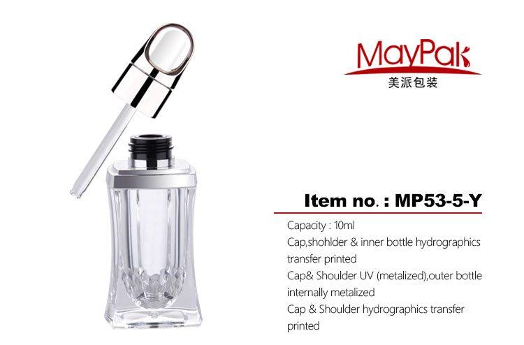 Crystal 10ml skin essential oil bottle
