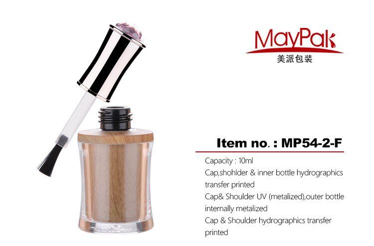 10ml nail polish gel bottle custom made