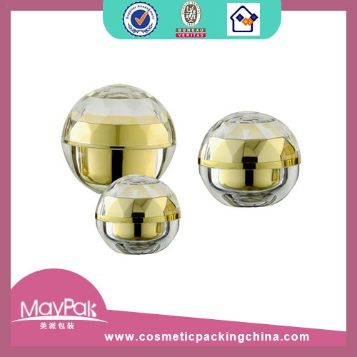 Plastic Ball Cosmetic Jar Factory