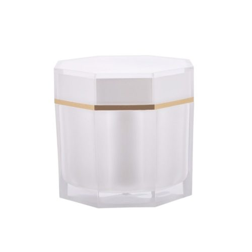 Octagon Cream Jar