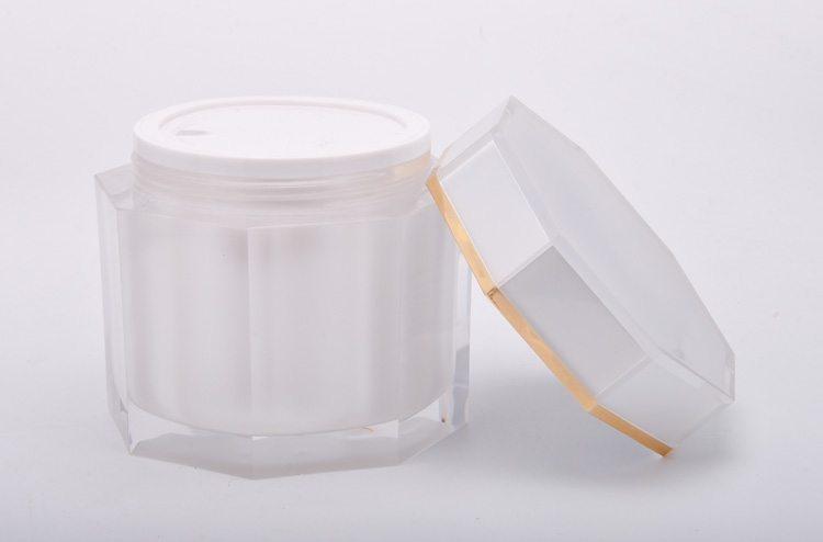 Octagon Cream Jar factory