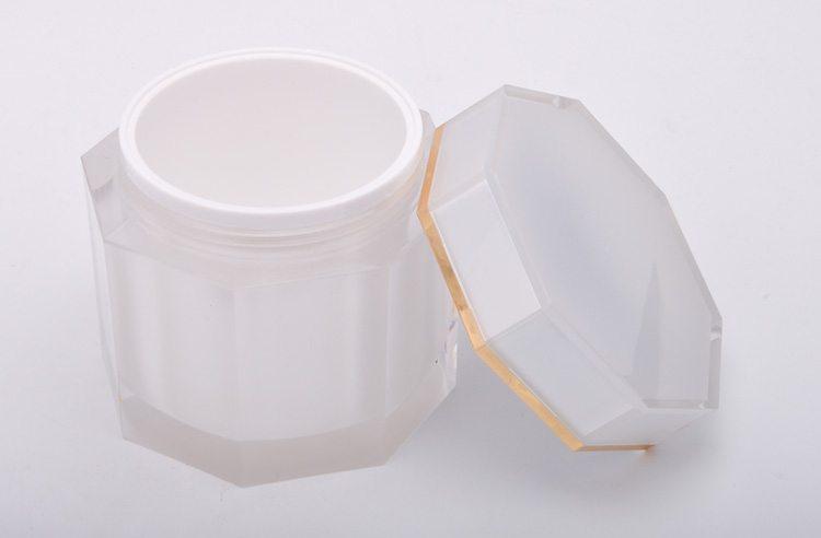 Octagon Cream Jar