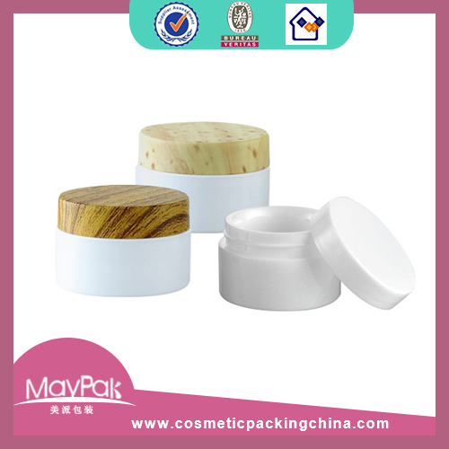 Plastic Decorated Cream Jar Factory