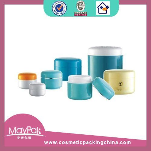 Plastic Double Wall Cream Jar Factory