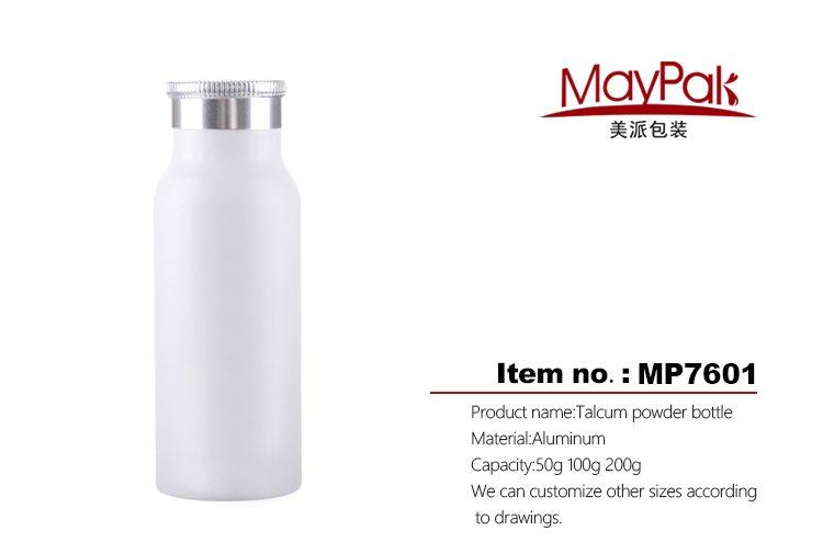 talcum powder aluminum bottle factory