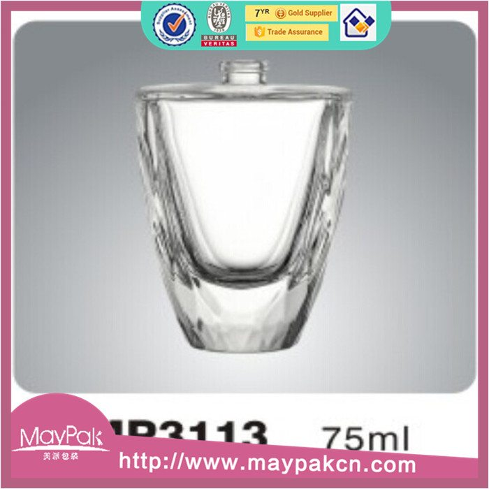 75ml empty perfume empty glass bottle