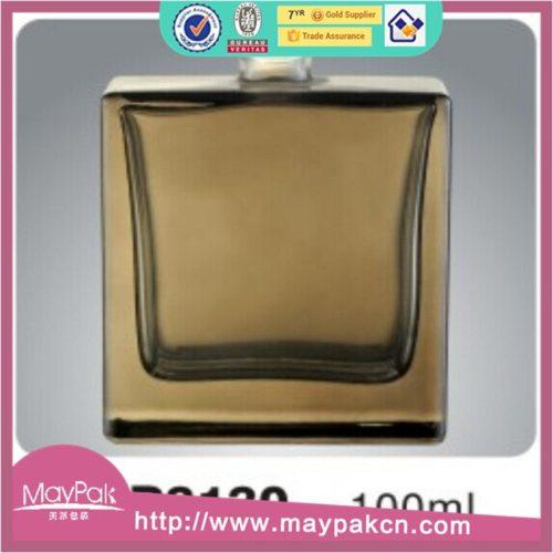 empty amber bottle glass perfume