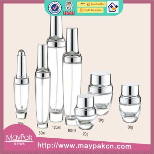 empty UV glass lotion bottle