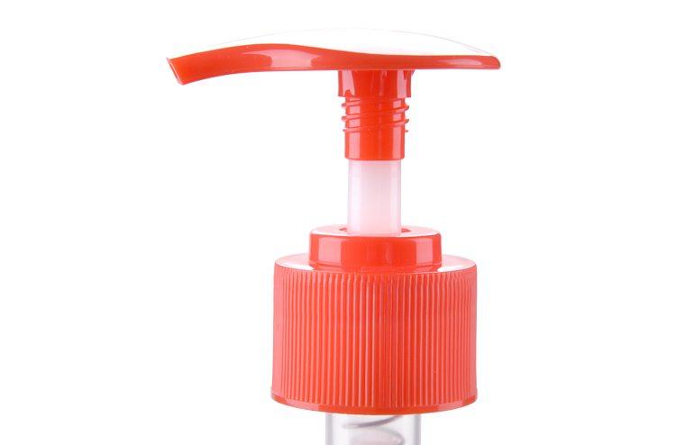 Ribbed Orange Red Dispenser