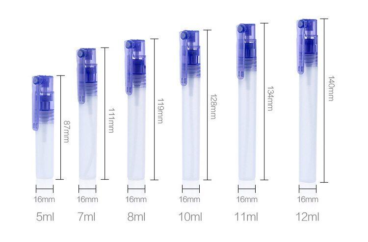mini size portable perfume sprayers bottle